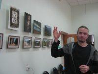 «От ремесла к искусству». Выставка художника Д. Сермягина