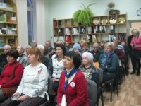 Встреча краеведов на улице Сенявина