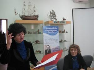 Татьяна Овчинникова и Тамара Петровна Гутман