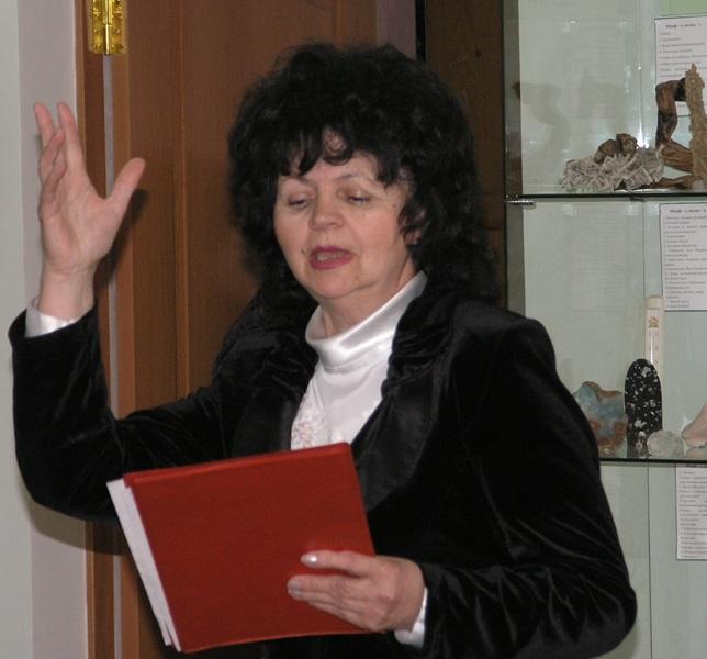 Татьяна Овчинникова, дипломант краевого конкурса чтецов