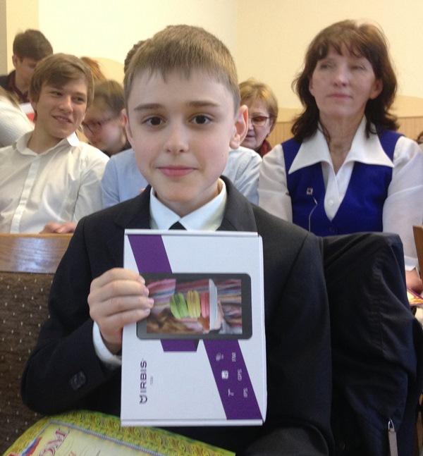 Савченко Егор, победитель в возрастной группе 10-12 лет