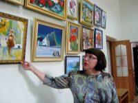 «Как прекрасна эта жизнь!»: презентация выставки Татьяны Быковой