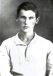А. Фадеев, 1919 год