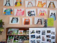 Мартовские коты в библиотеке