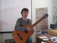 Бард и композитор Андрей Земсков в гостях у «Отражения»