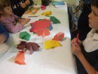 Книга, дети, оригами
