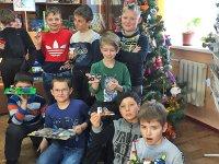 Рождественские радости для юных конструкторов